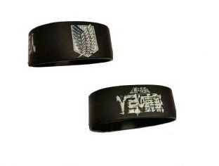 Attack On Titan Shield Silicone Wristband
