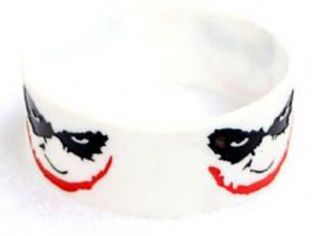 Batman Joker Silicone Wristband