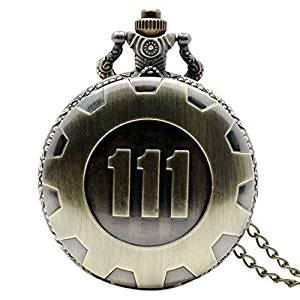 Fallout Vault 111 Pocket Watch