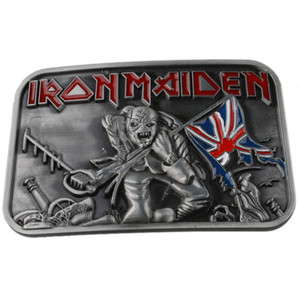 Iron Maiden 'Trooper' Belt Buckle